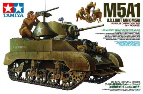 M5A1 US Light Tank 1/35