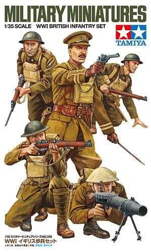 WWI British Infantry Set 1/35
