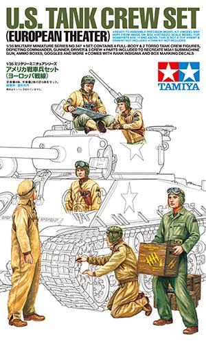 U.S. Tank Crew Set (European Theater) 1/35