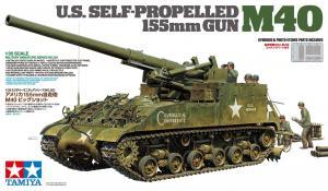 US Self-Propelled 155mm Gun - M40 1/35