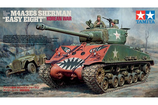 "U.S. MEDIUM TANK M4A3E8 SHERMAN ""EASY EIGHT"" 1/35"