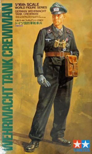 Wehrmacht Tank Crewman 1/16
