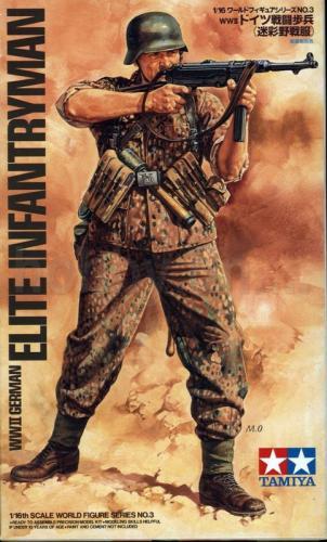 German Elite Infantryman WWII 1/16