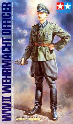 WWII Wehrmacht Officer 1/16