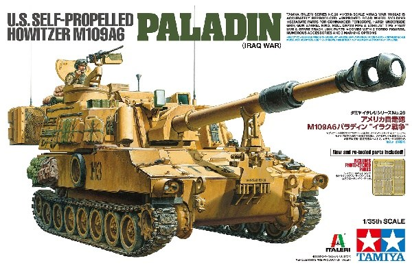 U.S. SELF-PROPELLED HOWITZER M109A6 PALADIN 1/35