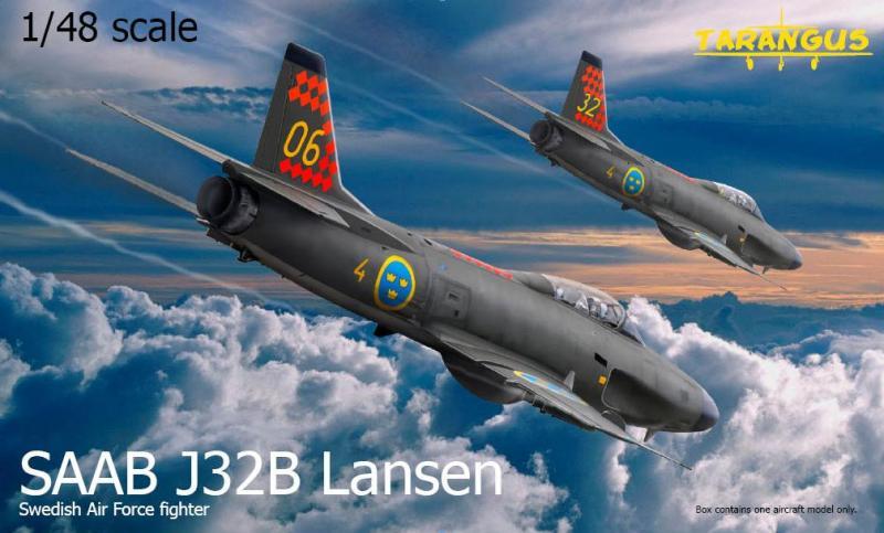 SAAB J32B Lansen 1/48