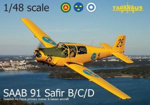 SAAB 91 Safir B/C/D 1/48