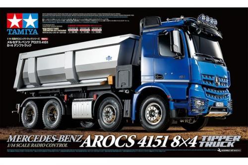 R/C Mercedes-Benz Arocs 4151 8x4 Tipper Truck 1/14