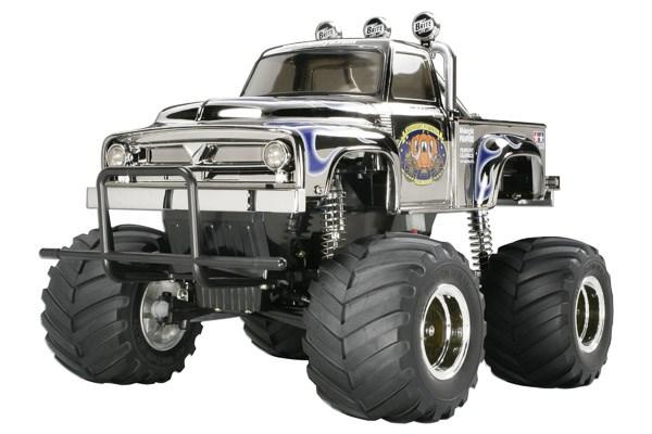 Radiostyrd bil, Monster Truck, R/C MIDNIGHT PUMPKIN CHROME 1/10