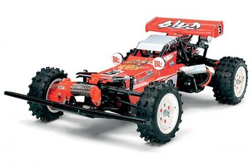 Radiostyrd bil, Racerbil, röd R/C HOTSHOT