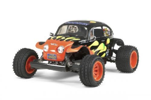 Radiostyrd bil, Racerbil, svart och röd  R/C BLITZER BEETLE