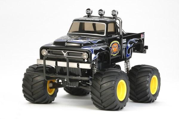 Svart radiostyrd bil, Monster Truck MIDNIGHT PUMPKIN BLACK EDITION