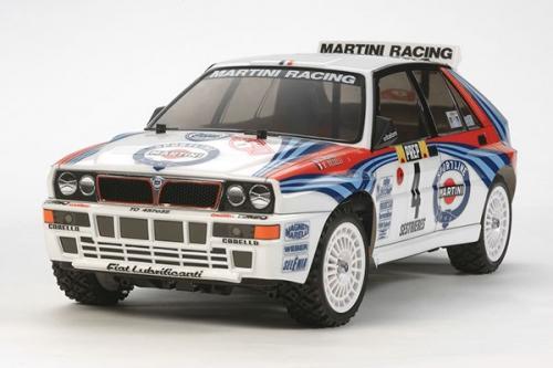 Radiostyrd bil, Racerbil, vit R/C LANCIA DELTA