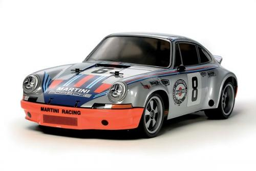 Radiostyrd bil, sportbil silver R/C PORSCHE 911 CARRERARSR