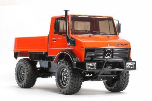 Radiostyrd bil, röd jeep  R/C UNIMOG 425