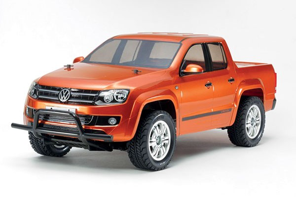 Radiostyrd bil, orange jeep R/C VW AMAROK