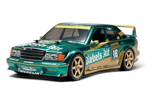 Radiostyrd bil, Racerbil, grön R/C MERCEDES-BENZ