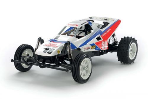Radiostyrd bil, Racerbil, vit och röd R/C THE GRASSHOPPER II