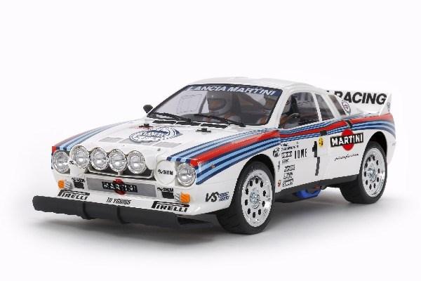 Radiostyrd bil, Racerbil, vit R/C LANCIA 037 RALLY