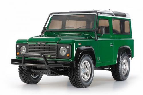 Radiostyrd bil, Grön Jeep, R/C LAND ROVER DEFENDER 90