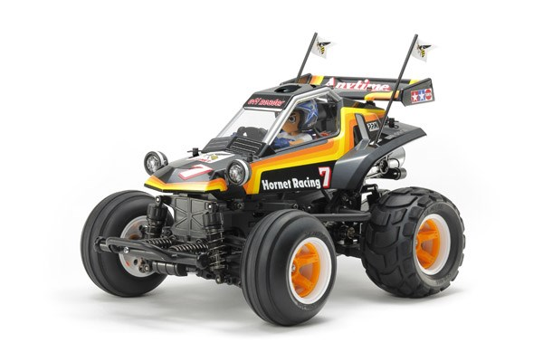 Radiostyrd bil, Monster Truck, Gul och svart R/C COMICAL HORNET