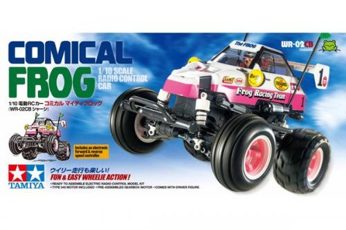 R/C COMICAL FROG (WR-02CB) 1/10