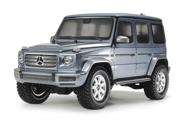 Radiostyrd bil, grå jeep R/C MERCEDES-BENZ G 500