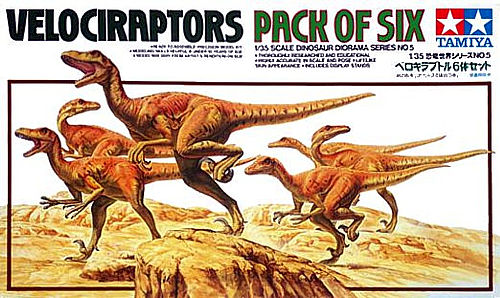 Velociraptors 1/35