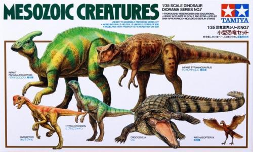 Mesozoic Creatures Set 1/35