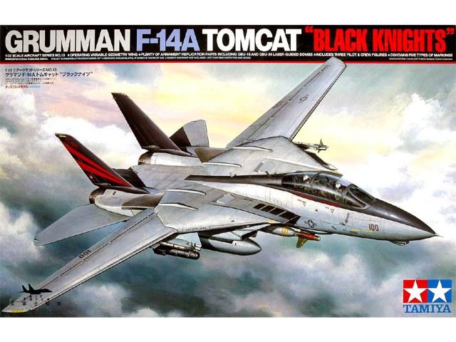 """Grumman F-14A Tomcat """"Black Knights"""" 1/32"""