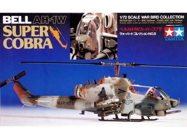 Bell AH-1W Super Cobra 1/72