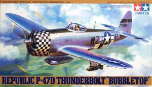 P-47D Thunderbolt Fighter Bubbletop 1/48
