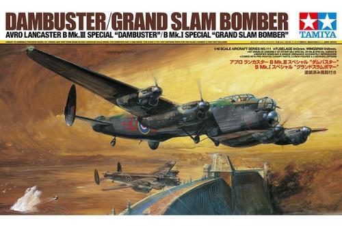 """Avro Lancaster B Mk.III Sp. - B Mk.I Sp """"Grand Slam Bomber"""" 1/48"""