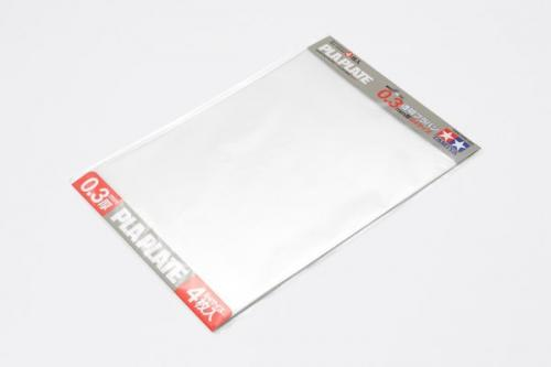 Clear Pla-Plate 0.3mm B4 (4pc.)