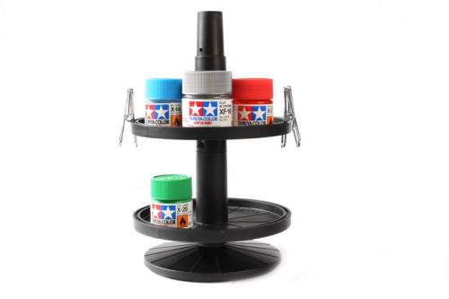 Paint Jar Stand w/4 Alligator Clips