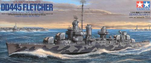 U.S. Destroyer DD-445 Fletcher 1/350