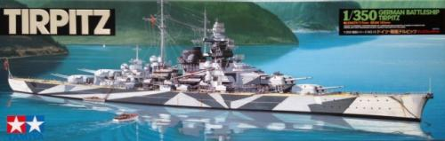 Tirpitz German Battleship 1/350