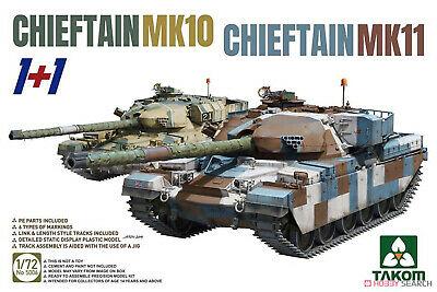 CHIEFTAIN MK11+CHIEFTAIN MK10 (1+1) 1/72
