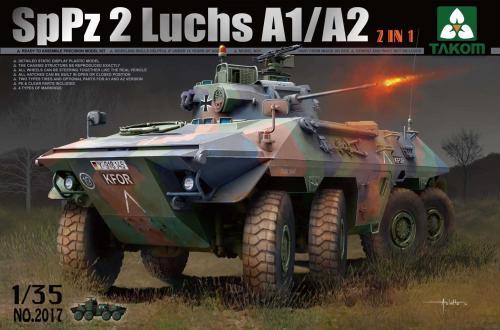 Bundeswehr SpPz 2 Luchs A1/A2 [2 in 1] 1/35
