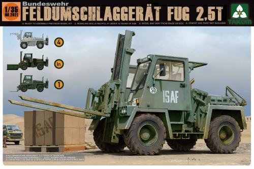 Bundeswehr Feldumschlaggerät FUG 2,5t 1/35