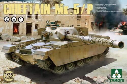 British Main Battle Tank Chieftain Mk.5/P [2 in 1] 1/35