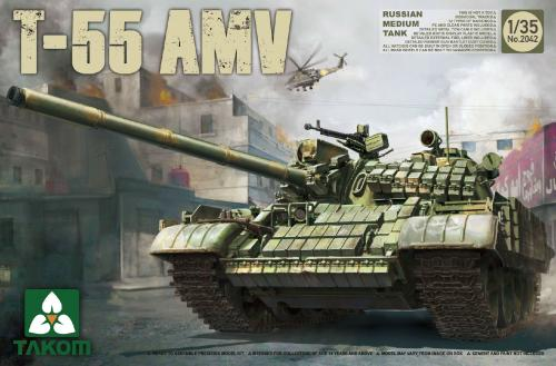 Russian Medium Tank T-55 AMV 1/35