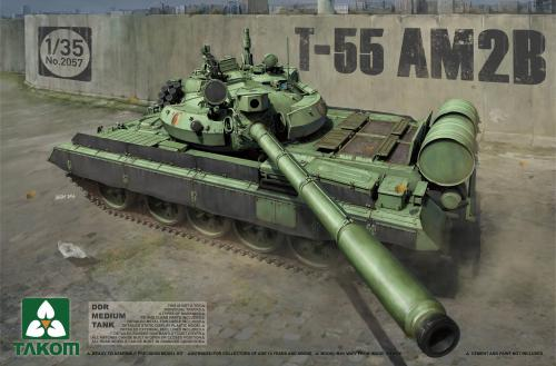 DDR Medium Tank T-55 AM2B 1/35