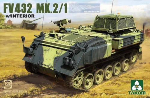 British APC FV 432 Mk.2/1 w/Interior 1/35