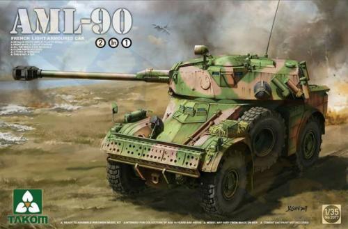 AML-90 French Light Armoured Car 1/35