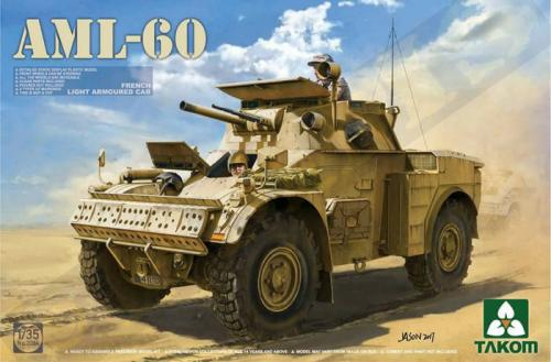 AML-60 French Light Armoured Car 1/35