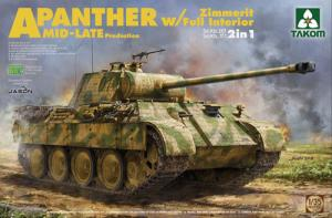 """Panther Ausf. A """"Mid/late"""" w Full Interior 1/35"""