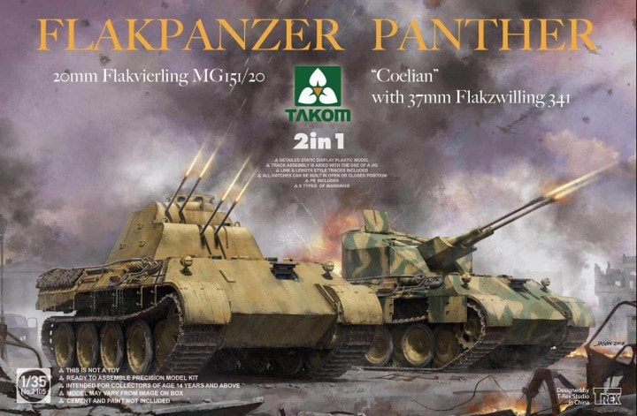 "Flakpanzer Panther ""Coelian"" 1/35"