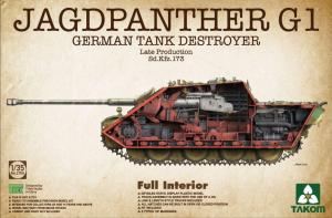 German Tank Destroyer Jagdpanther G1 Late production 1/35