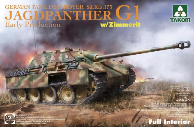 """Jagdpanther G1 """"Early"""" 1/35"""